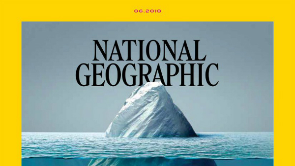Portada y packaging amigables al medio ambiente de National Geographic