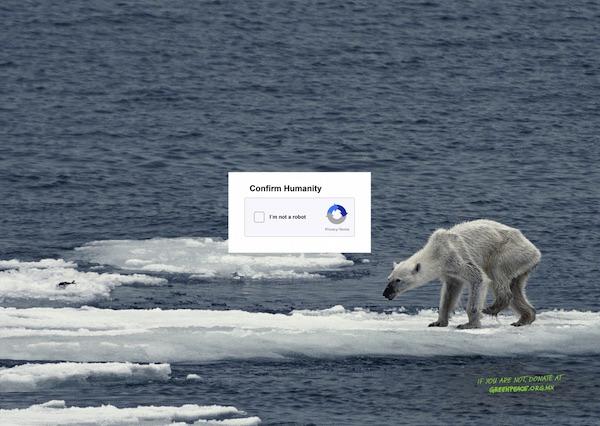 nueva campaña de Greenpeace