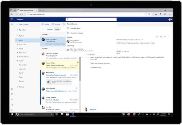 rediseño de Microsoft Office