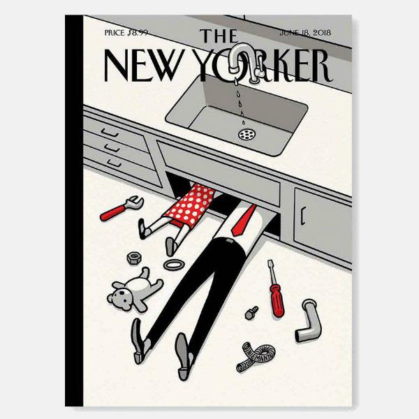 'The New Yorker' celebra el día del padre con su nueva portada