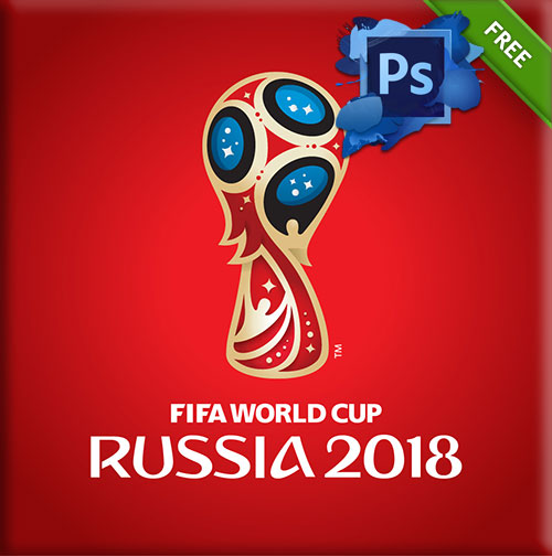 logo rusia 2018 PSD
