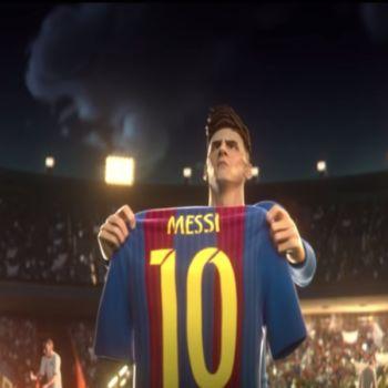 Messi protagoniza el nuevo y genial corto animado de Gatorade