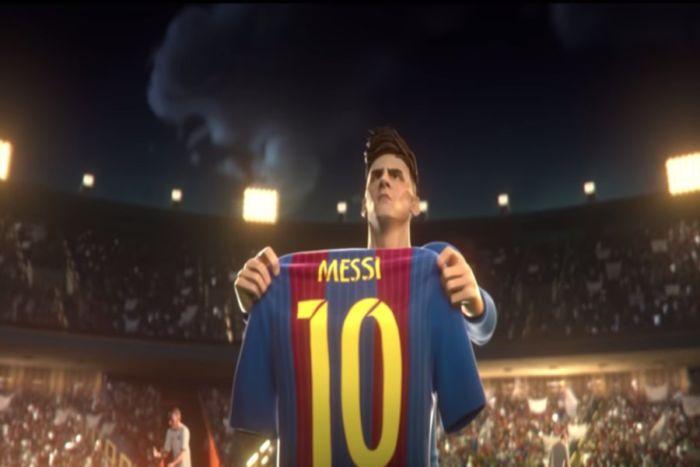 corto animado de Gatorade protagonizado por Messi