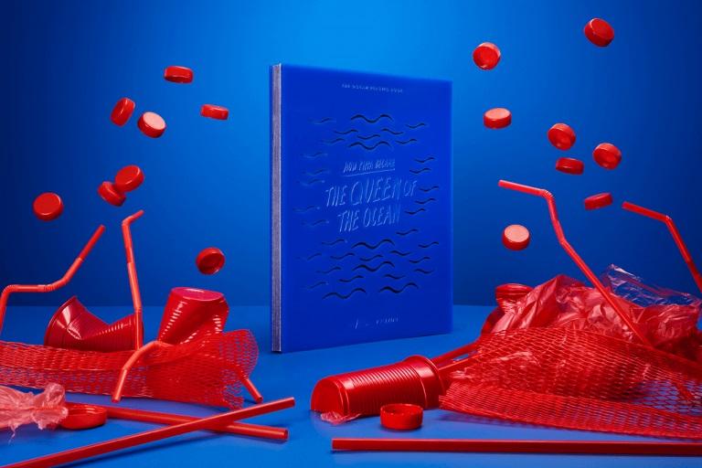 Ocean plastic book