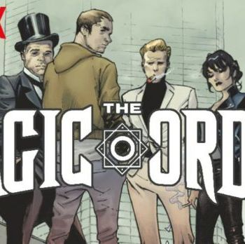 Netflix presenta 'The Magic Order' su primer cómic