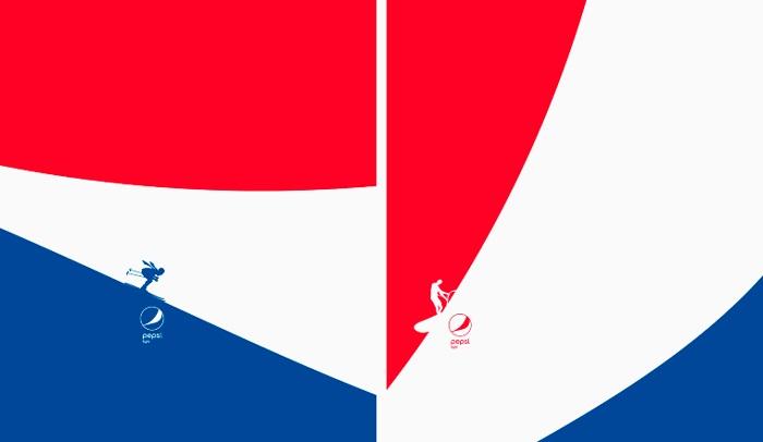Campaña minimalista de Pepsi Light