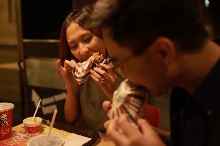 Envolturas comestibles KFC