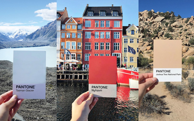 Fotógrafa identifica los colores de su viajes