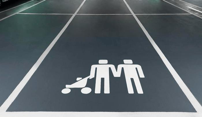 iconos familiares de Volvo en favor de la inclusión