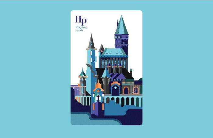 Juego de cartas inspirado en Harry Potter