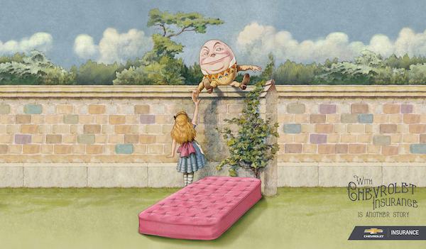 Chevrolet re-imagina cuentos infantiles como parte de su nueva campaña