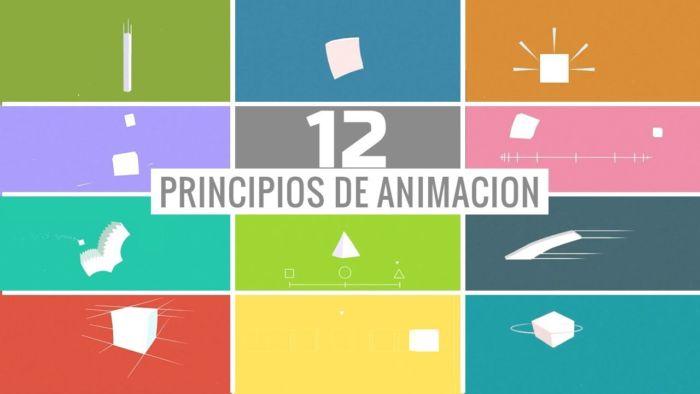principios clásicos de animación de Disney