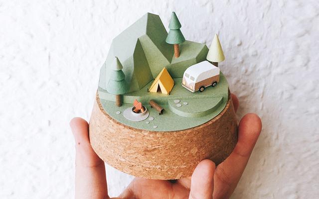 Mundos de papel por Li-Yu Lin