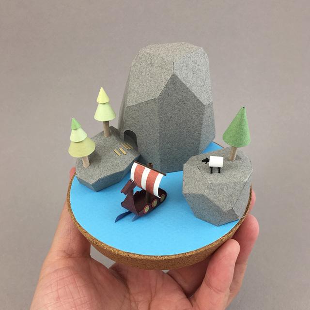 pequenos mundos por Li-yu lin (3)