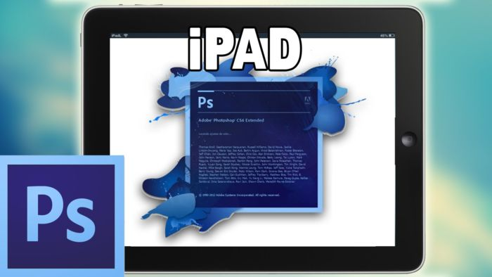 Adobe Photoshop tendrá su versión oficial en iPad