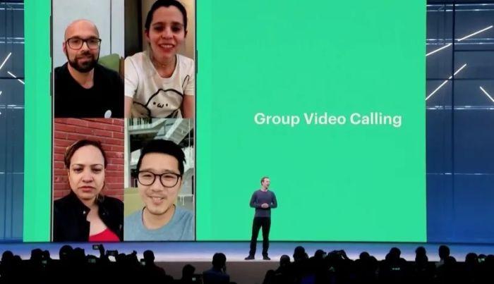 Videollamadas grupales de whatsapp