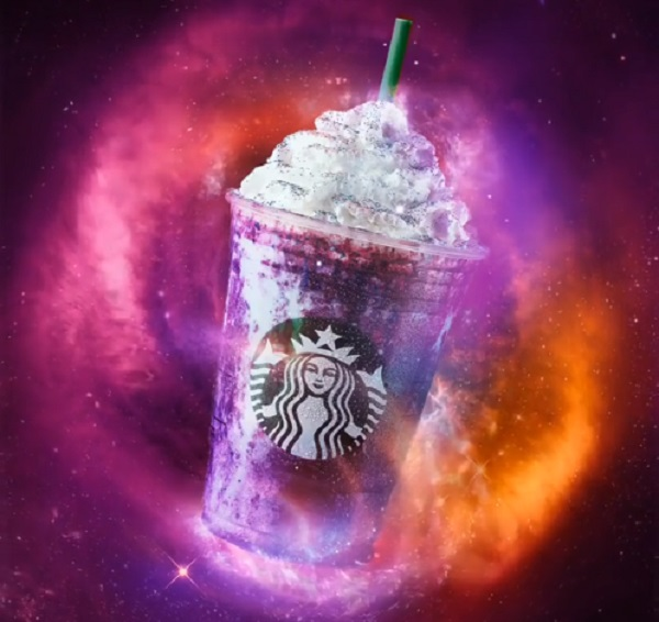 Galaxy Frappuccino de Starbucks