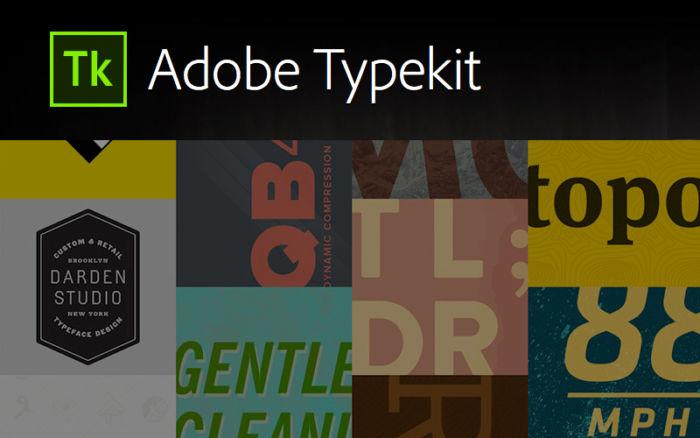Nuevos recursos de Adobe para Typekit