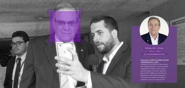 app para detectar a políticos corruptos