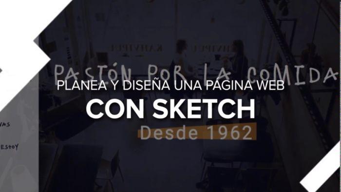 Diseño web desde cero con Sketch