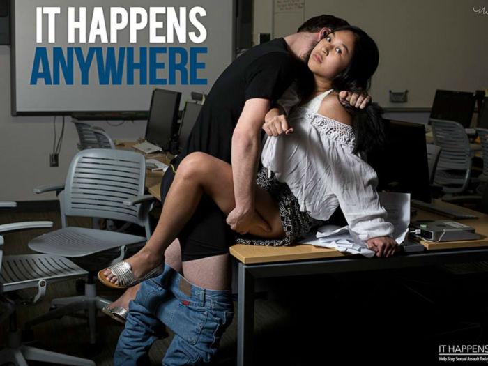 Campaña fotográfica sobre el asalto sexual