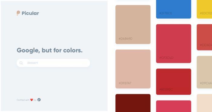Google pero de colores