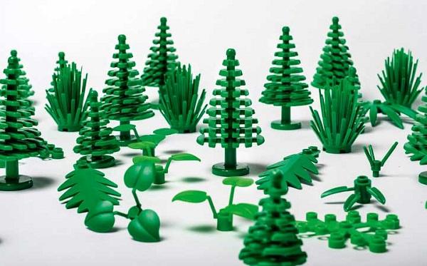 Bloques ecológicos de LEGO