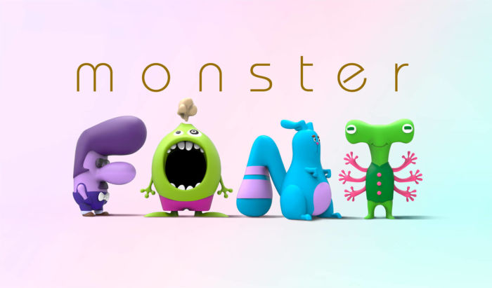 Monster Font por Shirataki