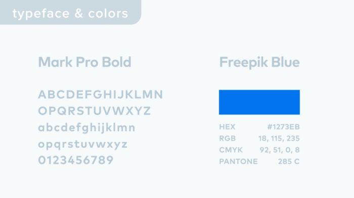 nuevo diseño de logo de Freepik