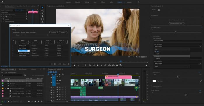 Novedades que llegarán a sus herramientas de vídeo de Adobe