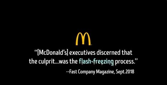 Anuncio de Wendy's contra McDonald's