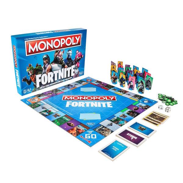 Monopoly versión de Fornite