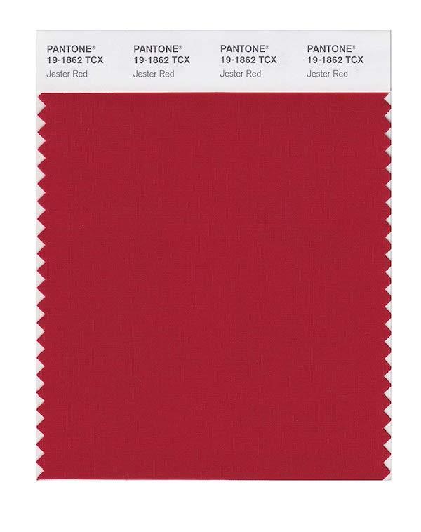 'Jester Red' (PANTONE 19-1862)