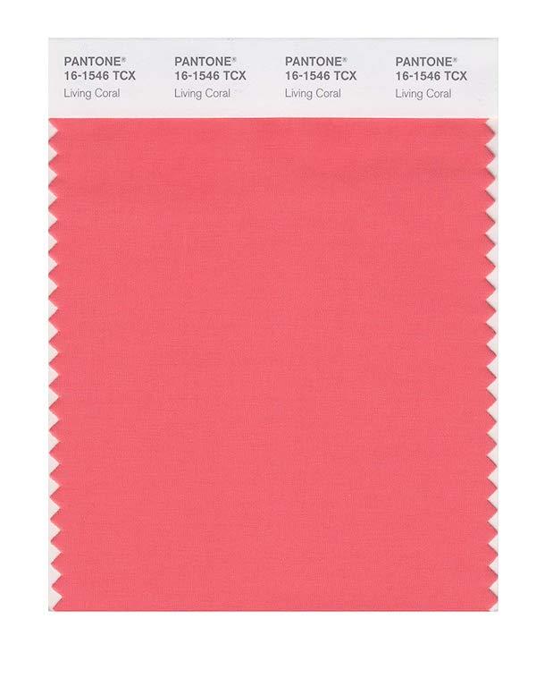 'Living Coral' (PANTONE 16-1546X)
