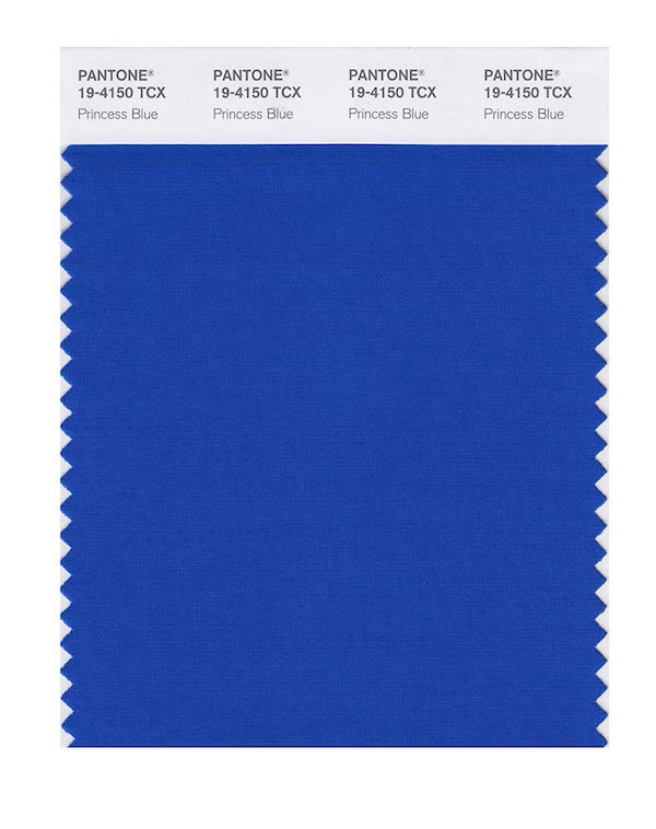 'Princess Blue' (PANTONE 19- 4150)