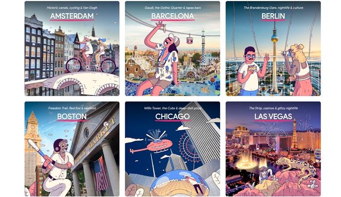 Google lanza guías de viaje