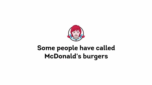Wendy's se burla de McDonald's