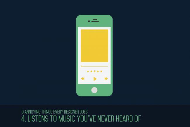 Escuchan música que nadie más escucha