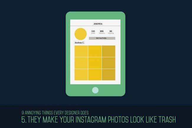 Hacen ver tus fotos de Instagram como basura.