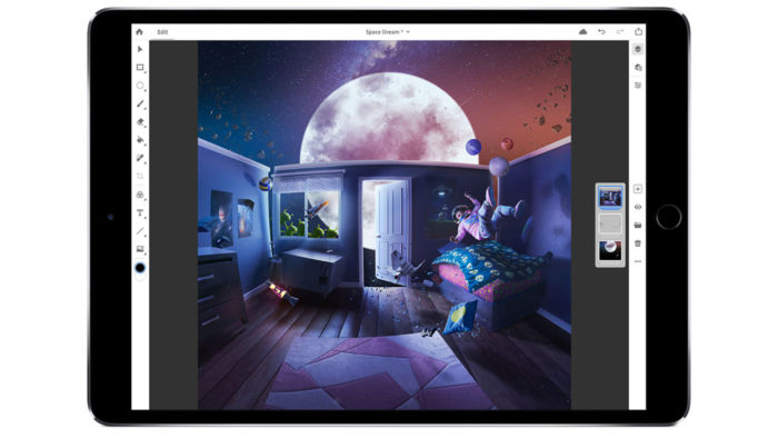 Adobe Photoshop para iPad