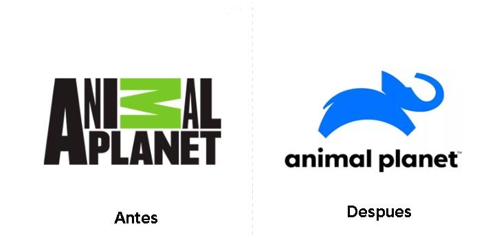 Nuevo diseño de logo de Animal Planet