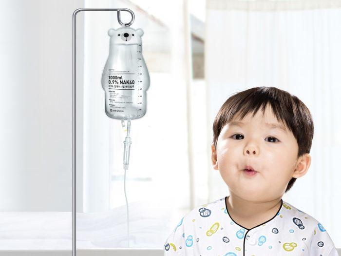 diseño de bolsas para facilitar las estancias infantiles en hospitales