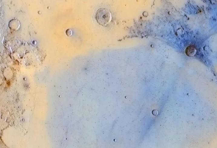 """Inverted colors of the boundary between Mare Serenitatis and Mare Tranquilitatis"" por Jordi Delpeix Borrell"