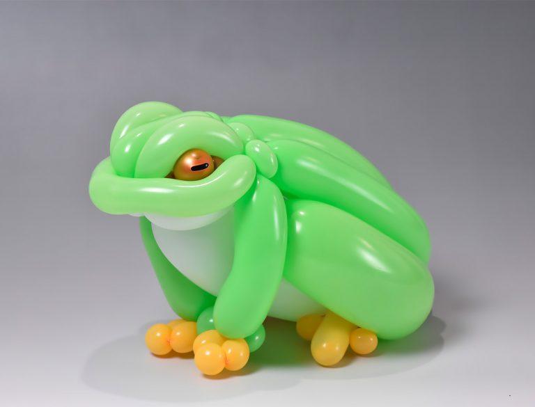 Diseños de animales hechos con globos