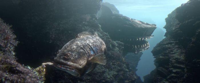 Cortometraje que fusiona peces con residuos contaminantes