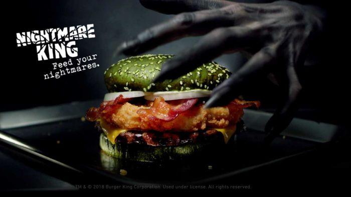 Nightmare King de Burger King
