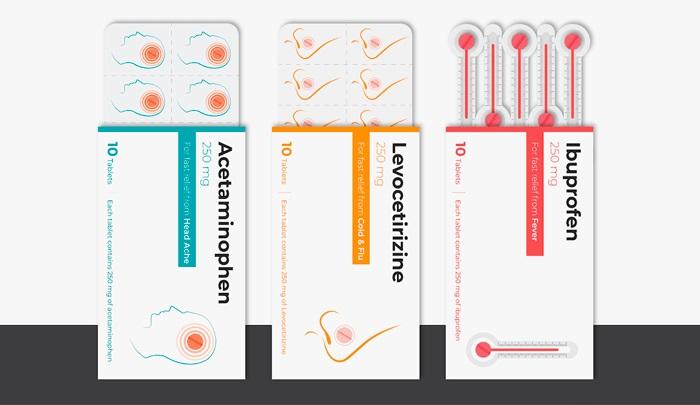 Re-diseño de cajas de medicamentos por Akkshit Khattar