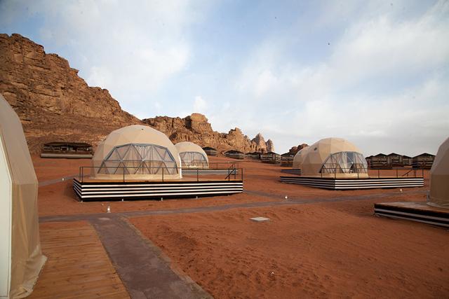 hotel diseñado para brindar una experiencia marciana
