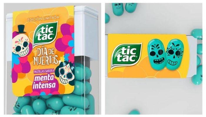 Tic Tac re-diseña su packaging inspirado en el Día de Muertos