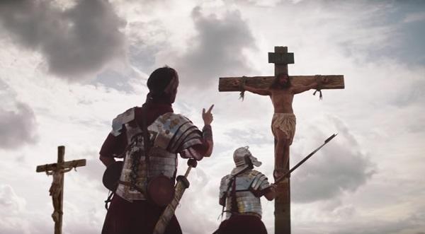 anuncio pide a Jesús que done sus órganos tras su crucifixión